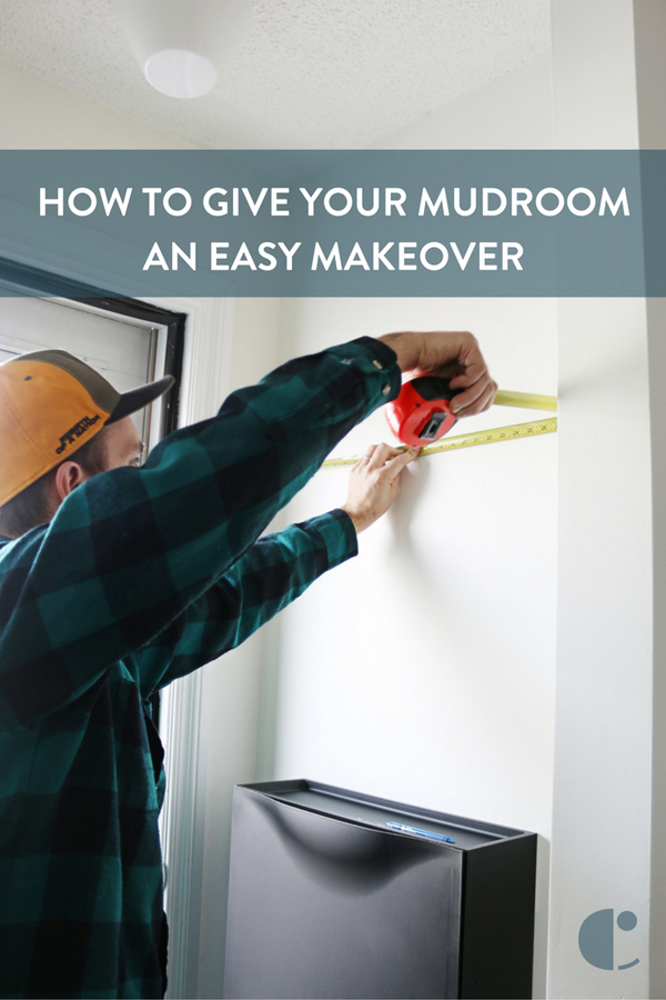 How To: Give your Mudroom an Easy Makeover