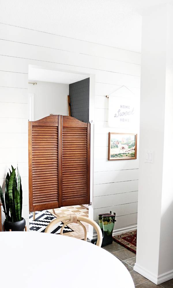 How To: Give your Mudroom an Easy Makeover using Space-Saving IKEA Pieces