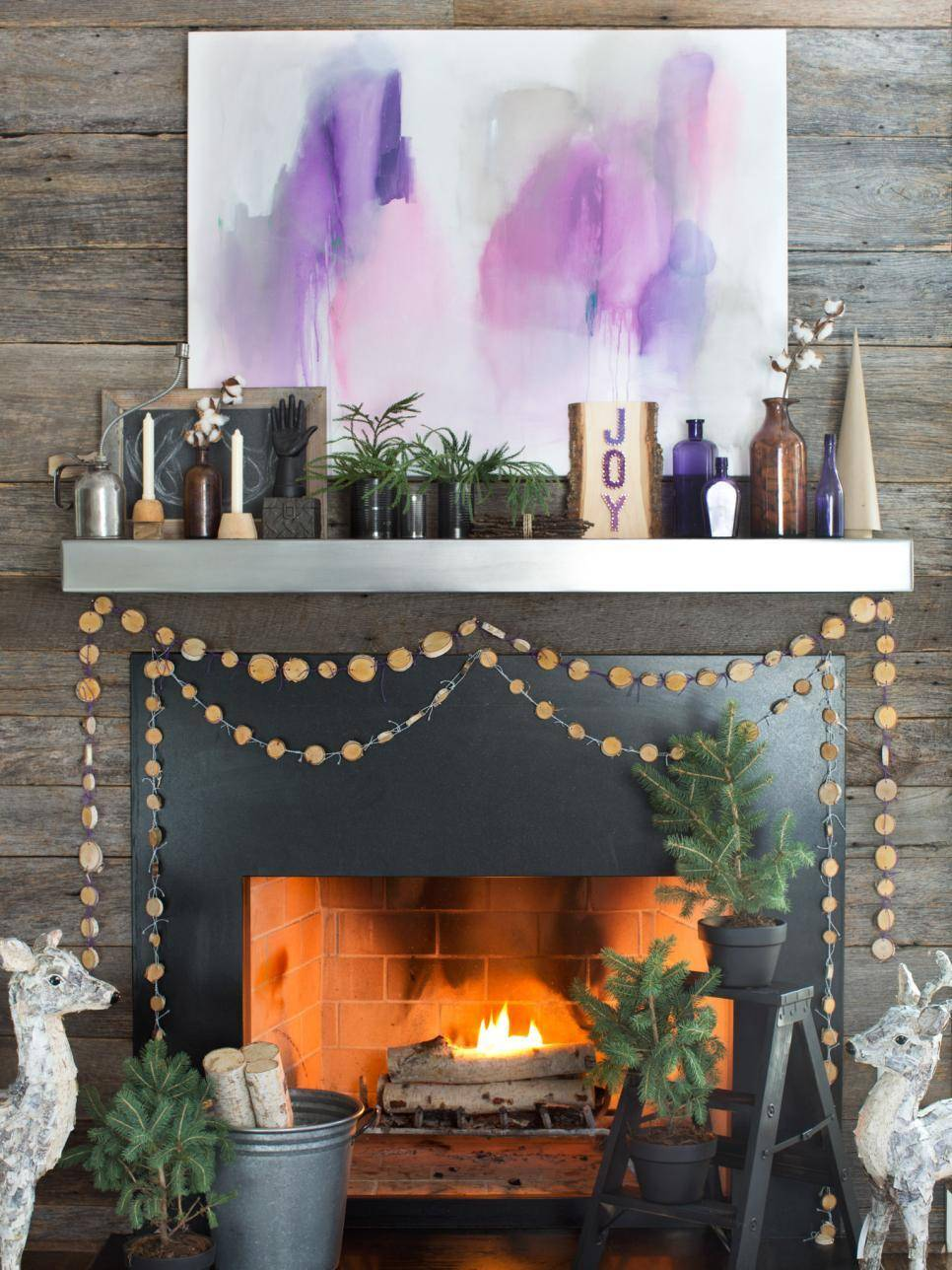 Eye Candy: 10 Unique Holiday Mantel Ideas