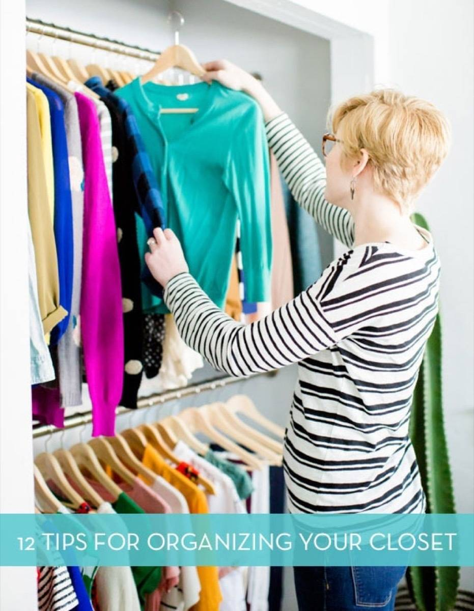 12 Tips for Organizing Your Closet!
