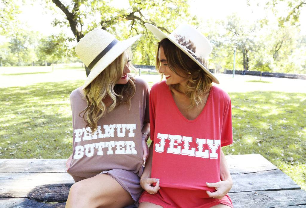 PB&J Best Friend Tees