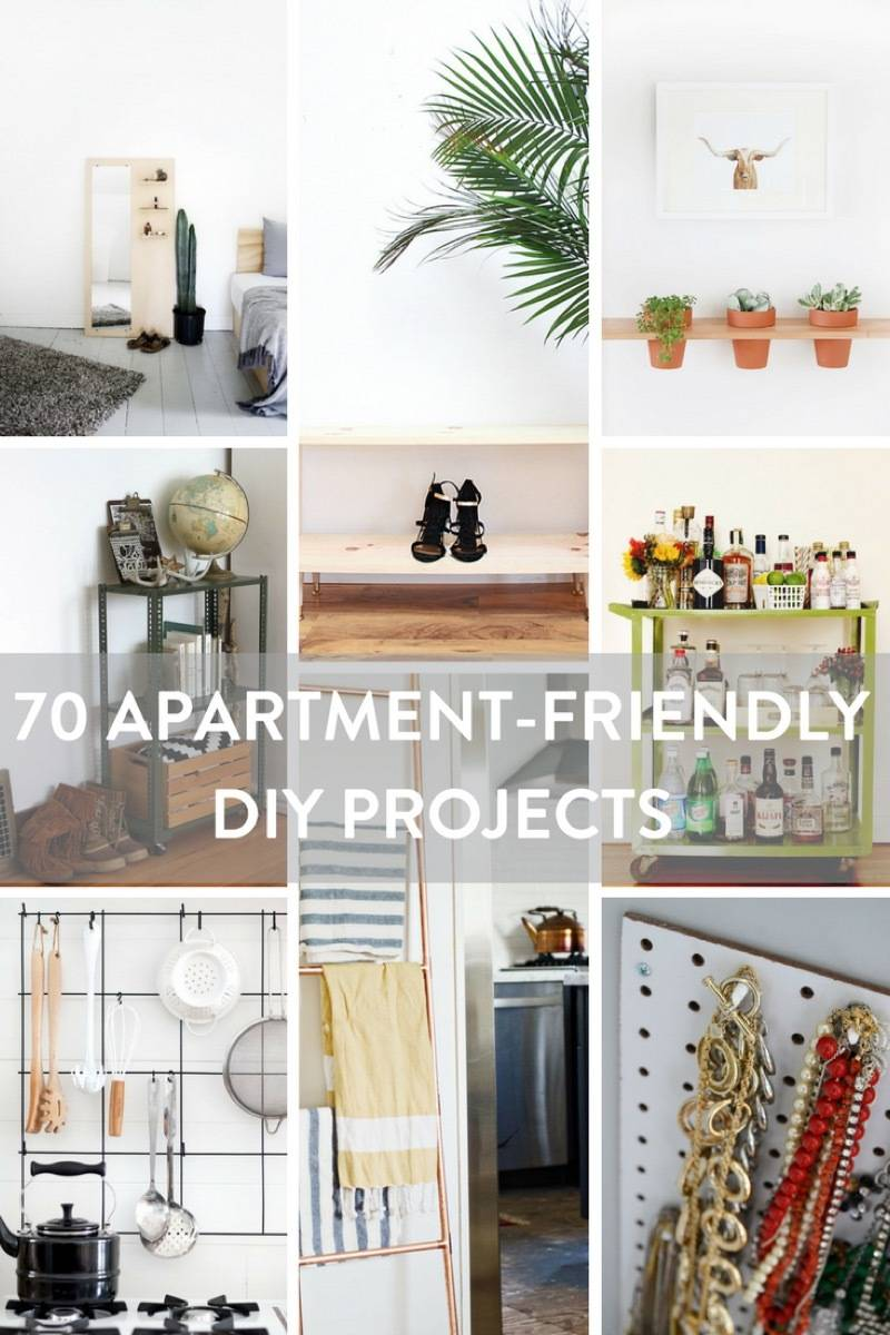 70 apartment-friendly DIY projects