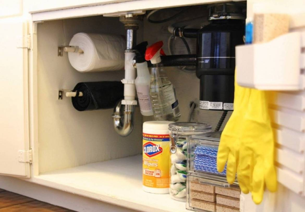 Keep Your Trash Bags on a Roll | 72 Organization Tips and Projects for Every Space in Your Home