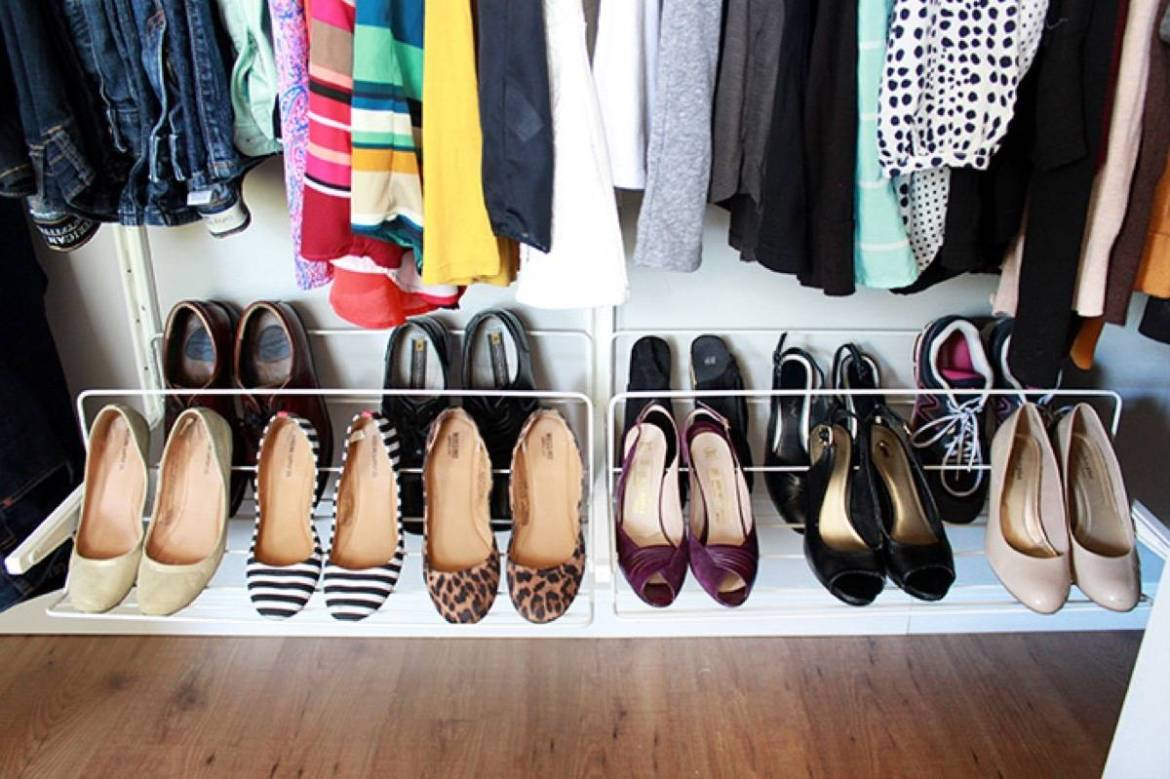 Don't waste a lick of closet space | 72 Organization Tips and Projects for Every Space in Your Home