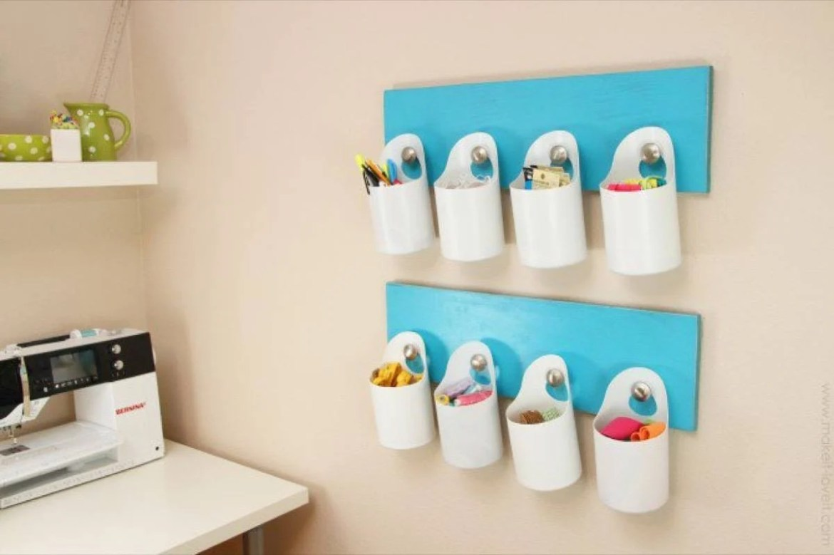Plastic bottles as organizers?? | 72 Organization Tips and Projects for Every Space in Your Home