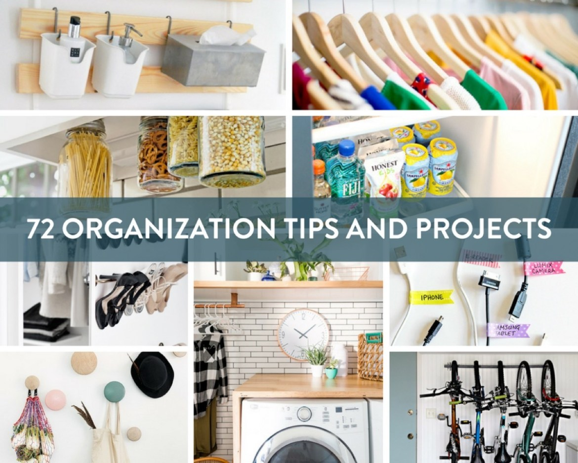 The ultimate roundup of organization tips, tricks, and projects for every space in your home