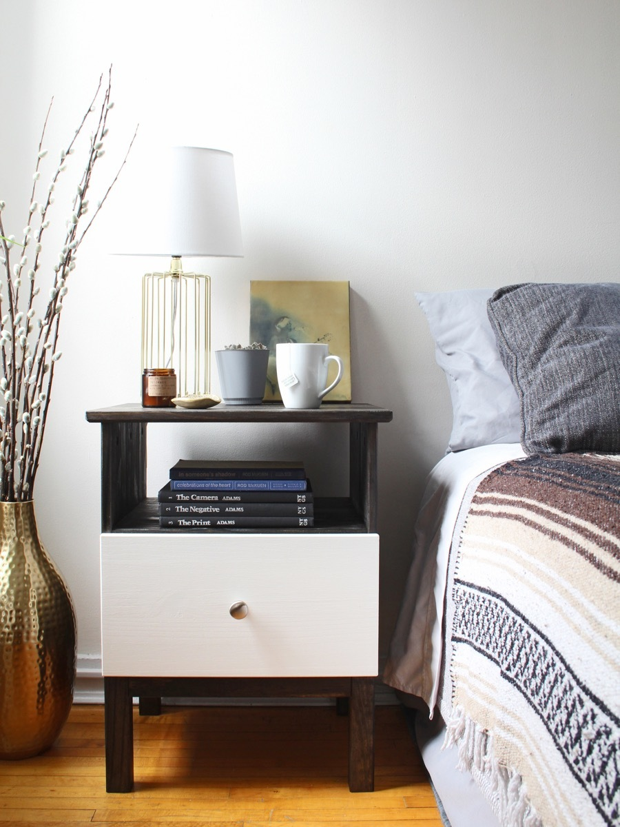 IKEA HACK: Tarva nightstand gets tech-friendly with built-in charging station