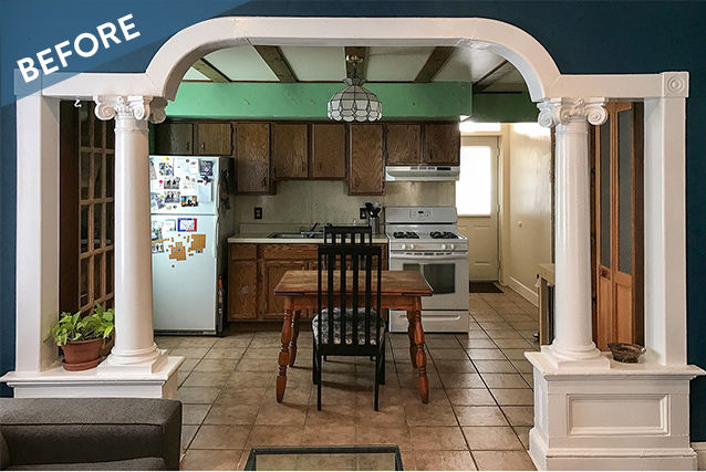 Before and After: A Lesson On Color In The Kitchen
