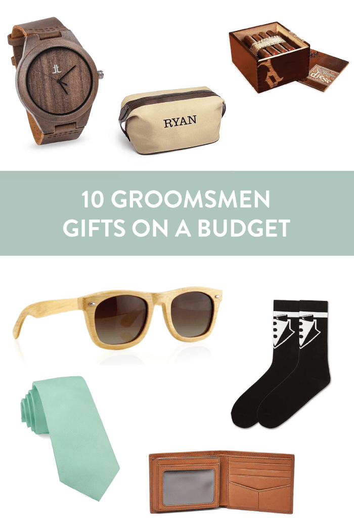 10 Budget-Friendly Groomsmen Gifts