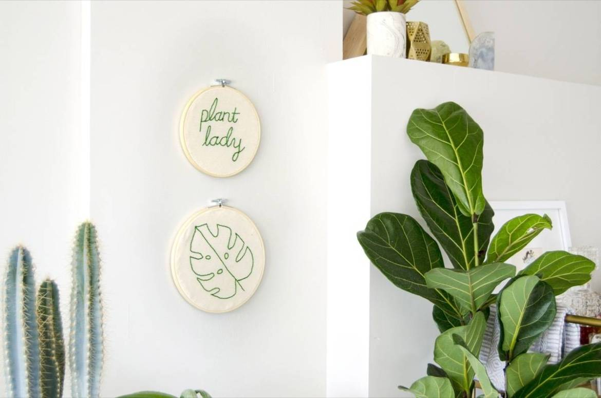 Learn how to embroider using a punch needle