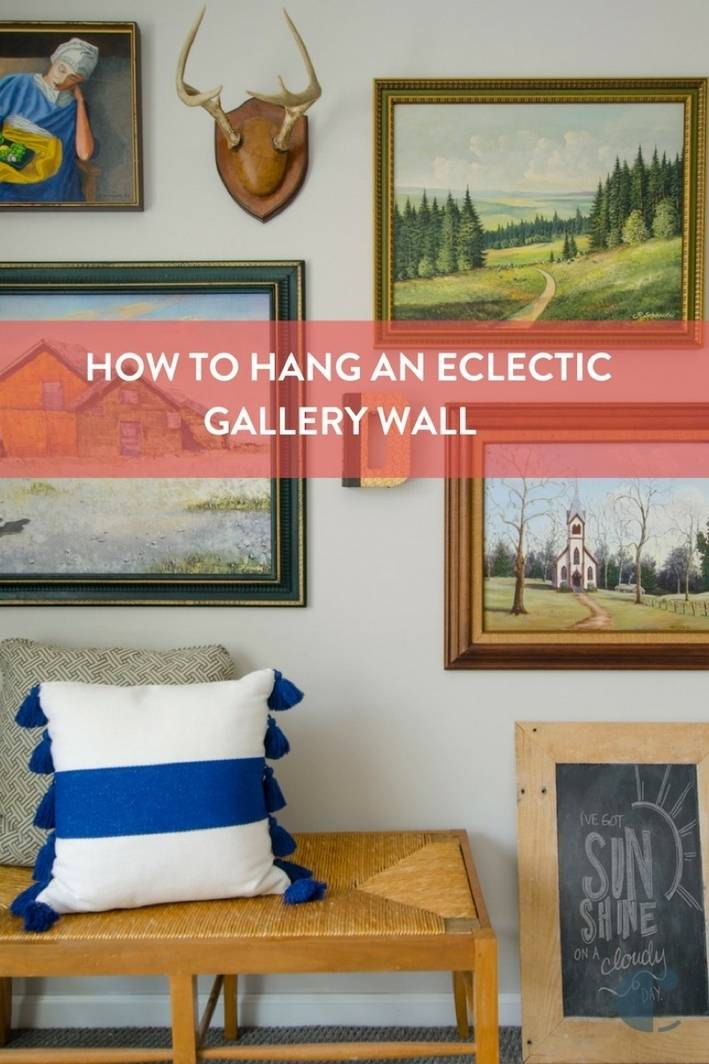Eclectic Gallery Wall