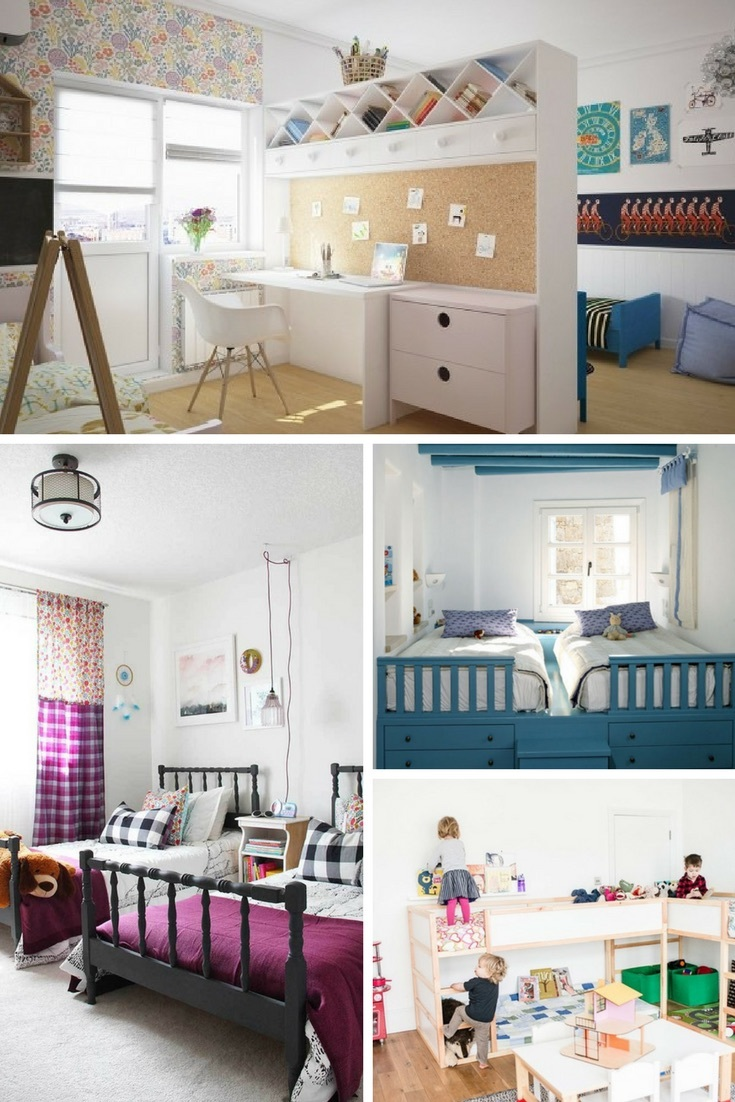 Roundup: Kids' Shared Rooms