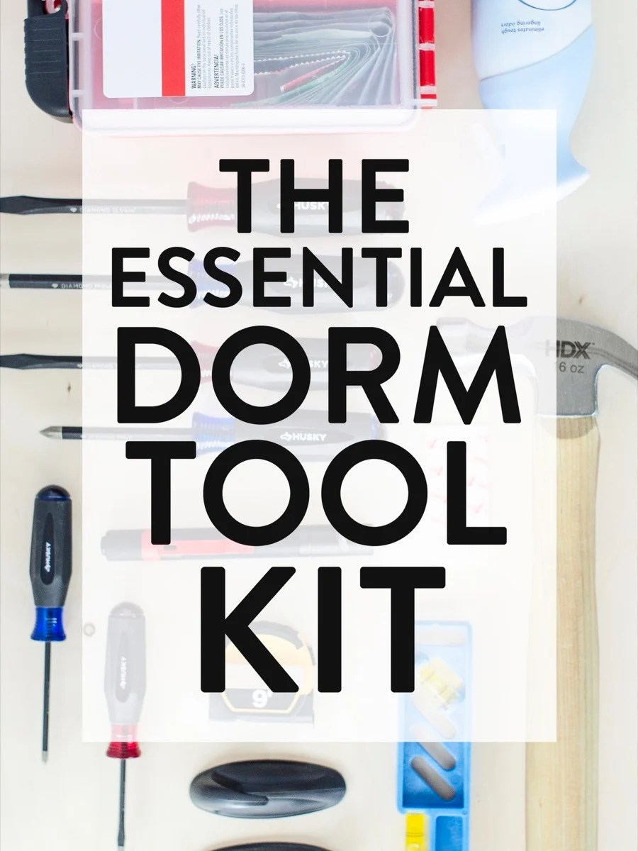 The Essential Dorm Kit: Everything your college student needs when they fly the coop