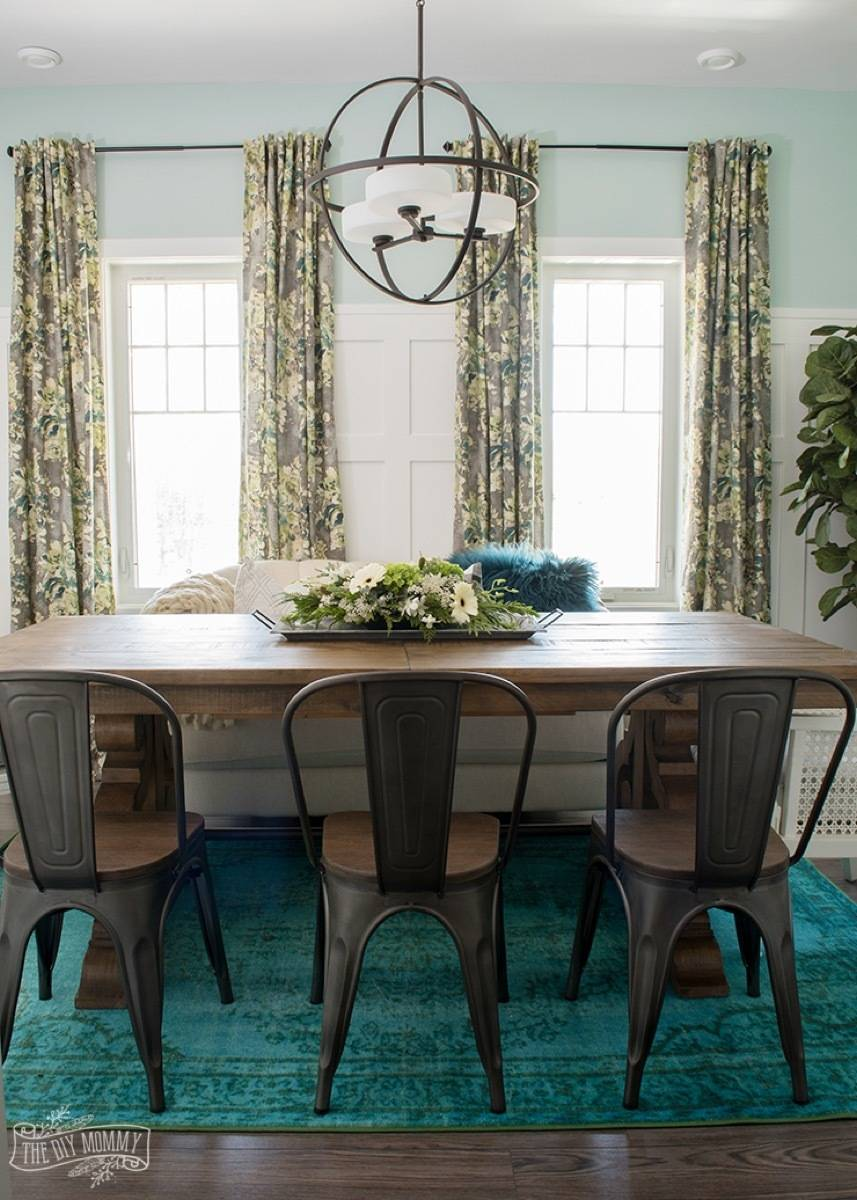 99 ways to use fabric to decorate your home   Customized curtains