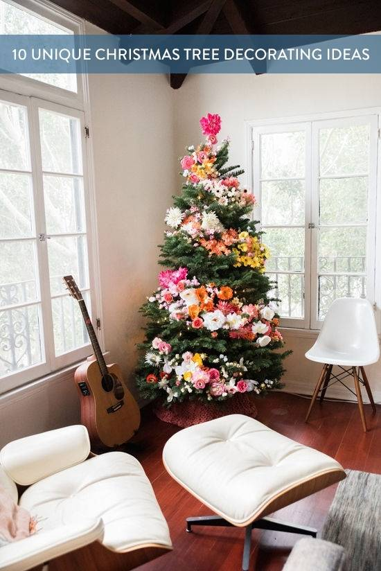 10 Unique Ways to Decorate Your Christmas Tree