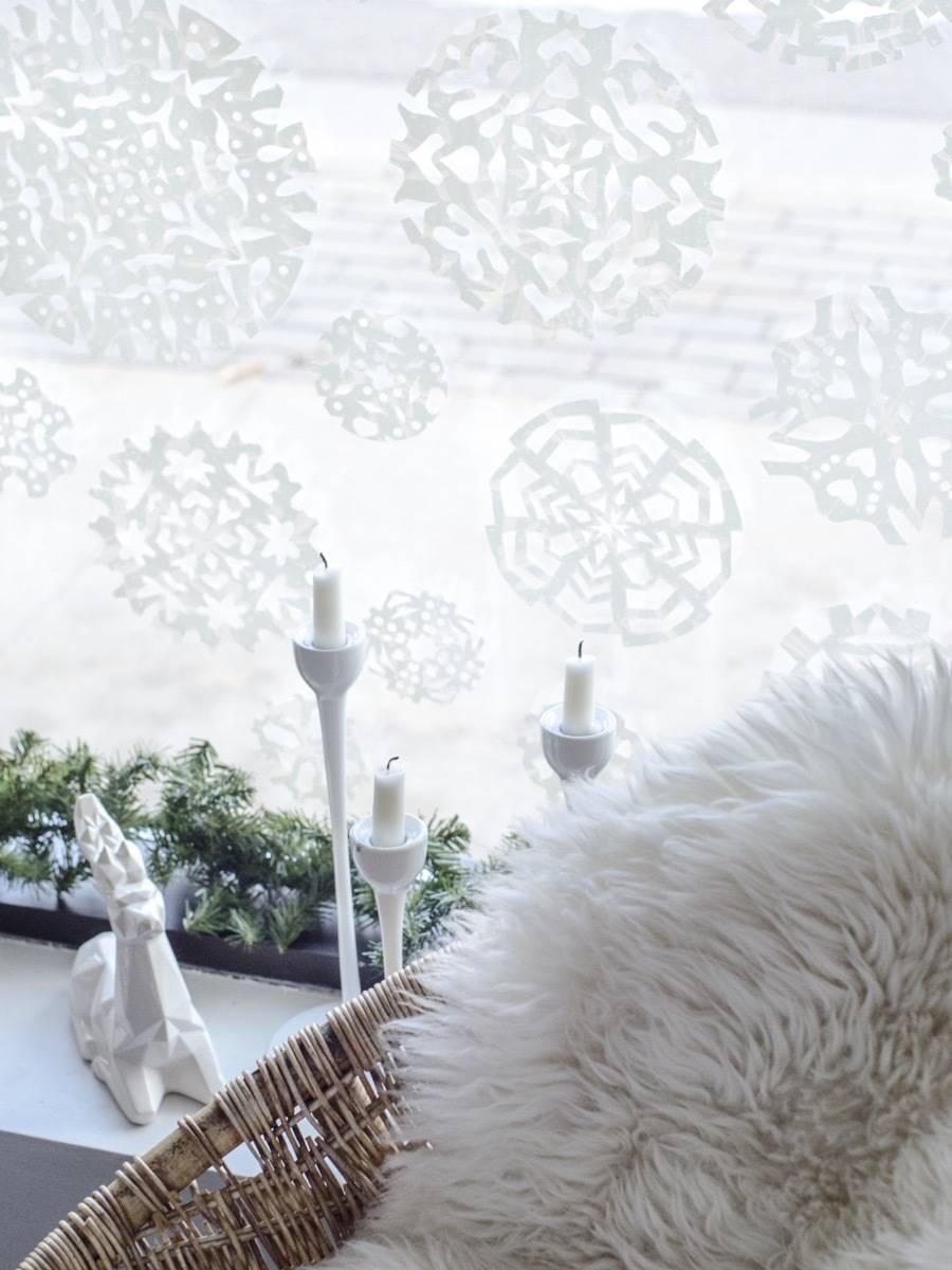 These aren't your regular paper snowflakes - these are cool snowflakes