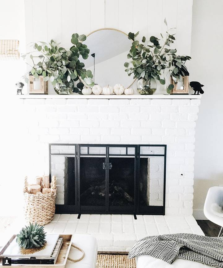 Eye Candy: 10 Ways To Style Your Mantel For Thanksgiving