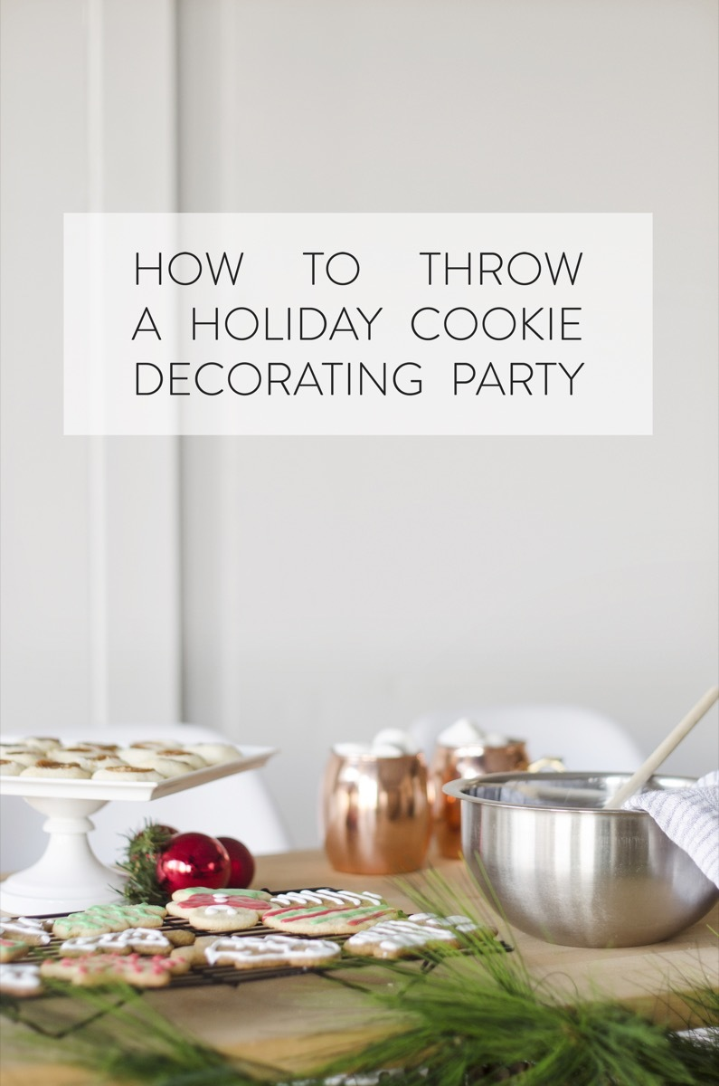 Tips on hosting a memorable cookie decorating party!