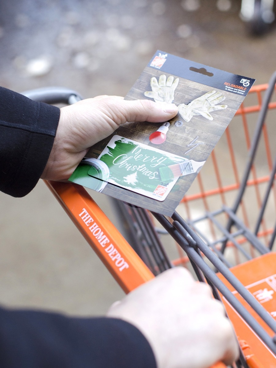 Got a gift card to the Home Depot for the holidays? Here's what we think you should spend it on!