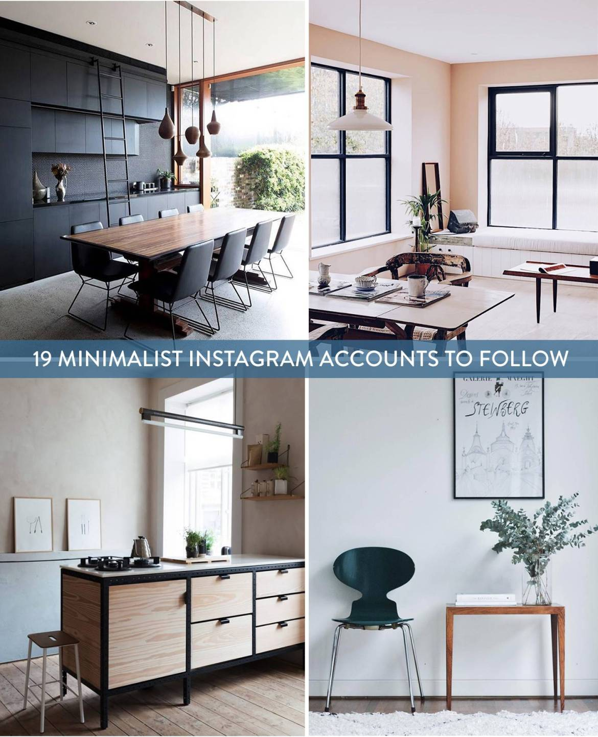 19 Instagram Accounts To Follow If You're In A Minimal Mood