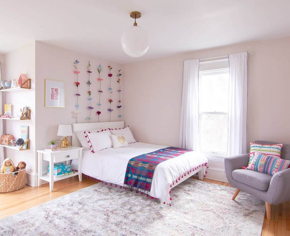 Girl's Room Makeover - Modern and Magical