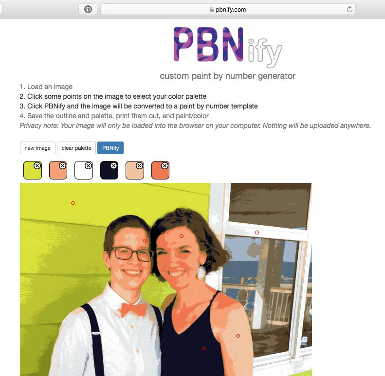 How to use PBNify.com to turn a photo into a paint-by-number