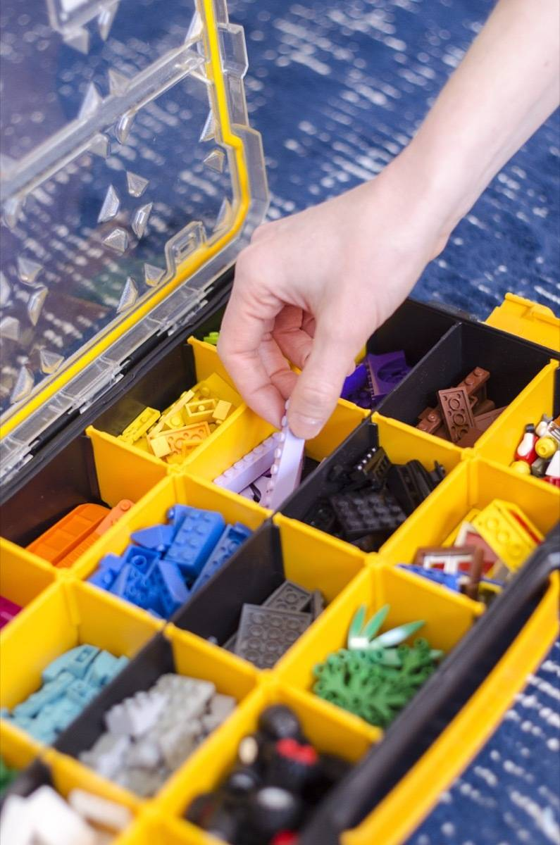 How using this tool organizer in the playroom can keep your home tidy