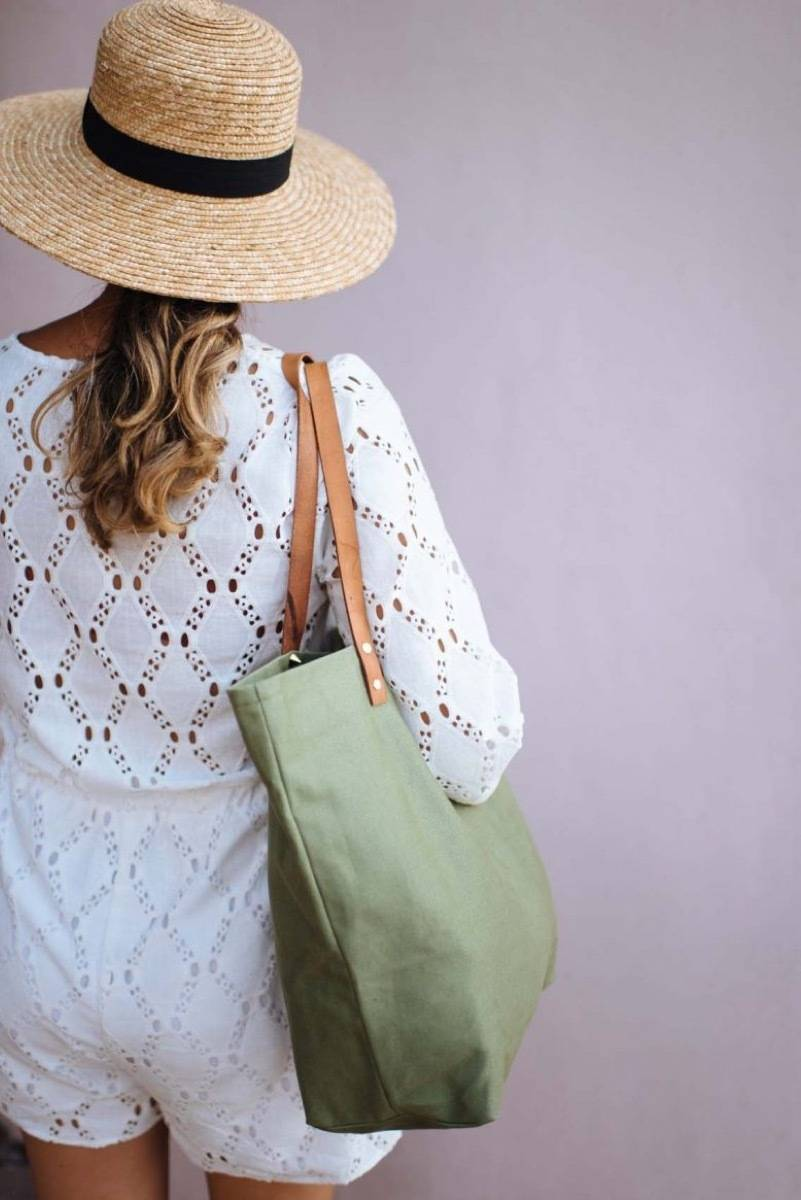 DIY Mother's Day Gift Ideas: Canvas bag