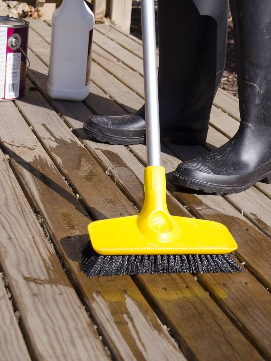 It's a good idea to seal your deck now before the harsh summer weather starts