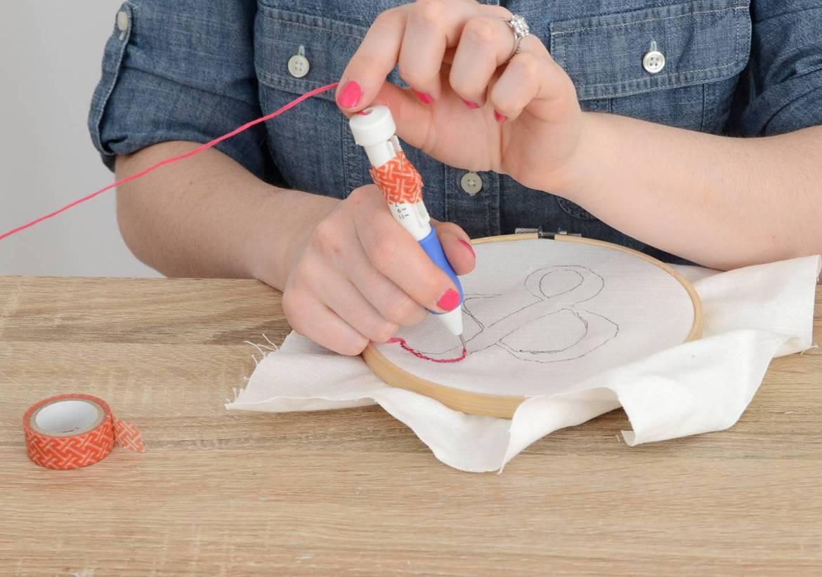 Learn How to Use Punch Needle Embroidery to Make DIY Art