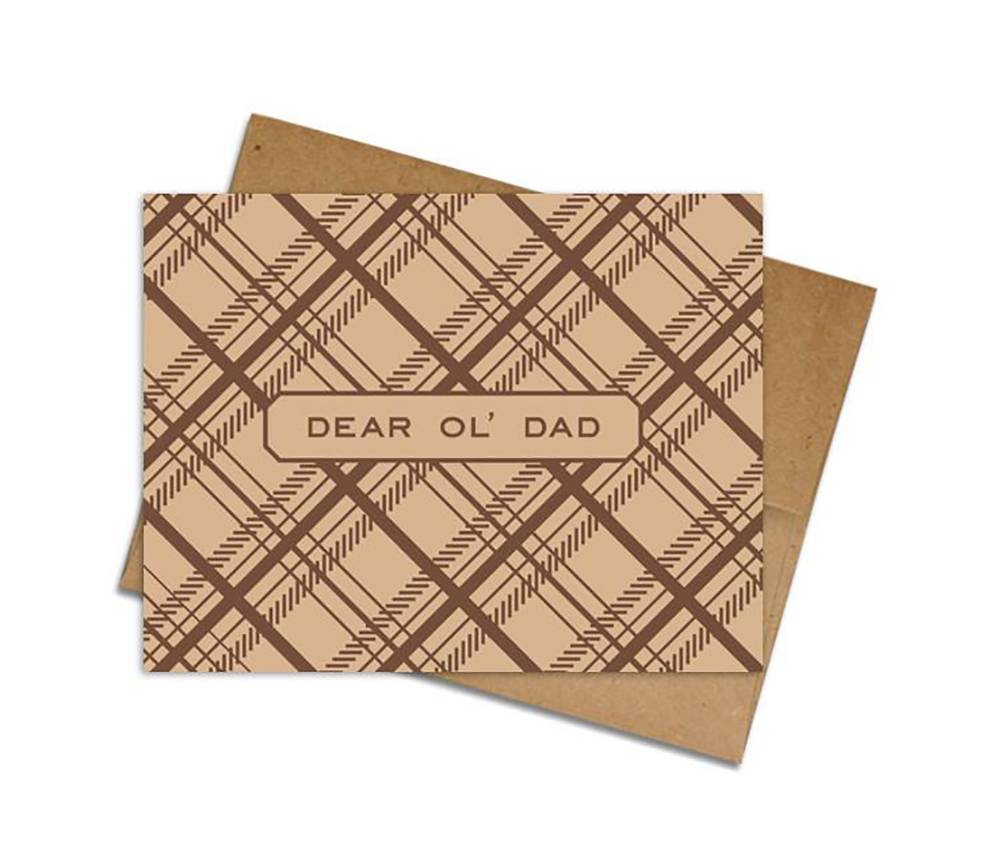 Dear Old Dad Father's Day card