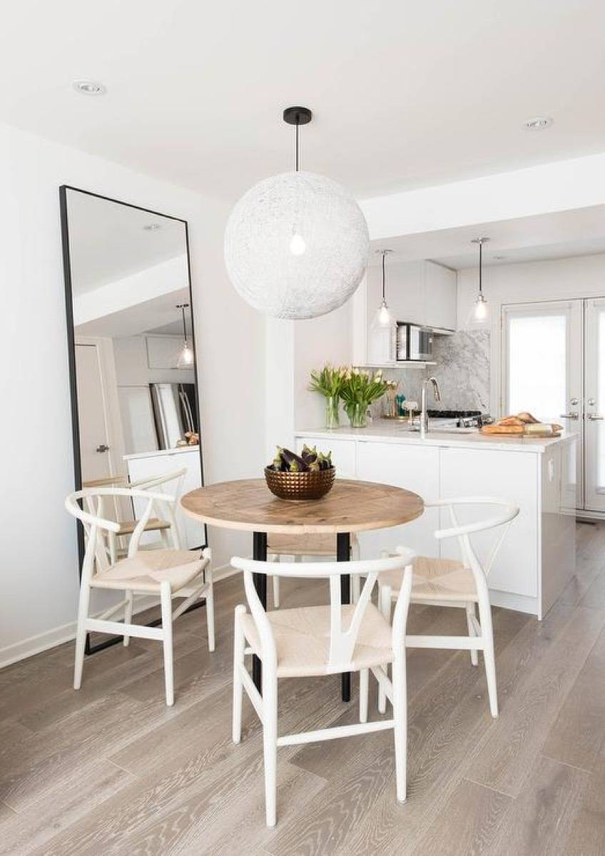 Apartment decorating tips: Style with round objects