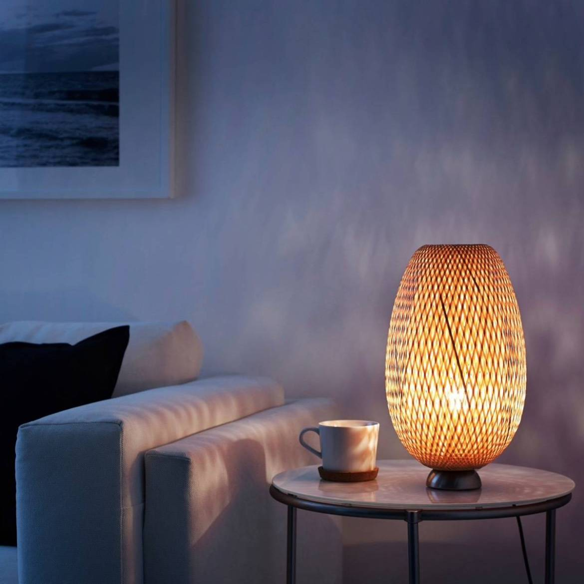 Affordable furniture and home decor pieces under $100 - IKEA table lamp