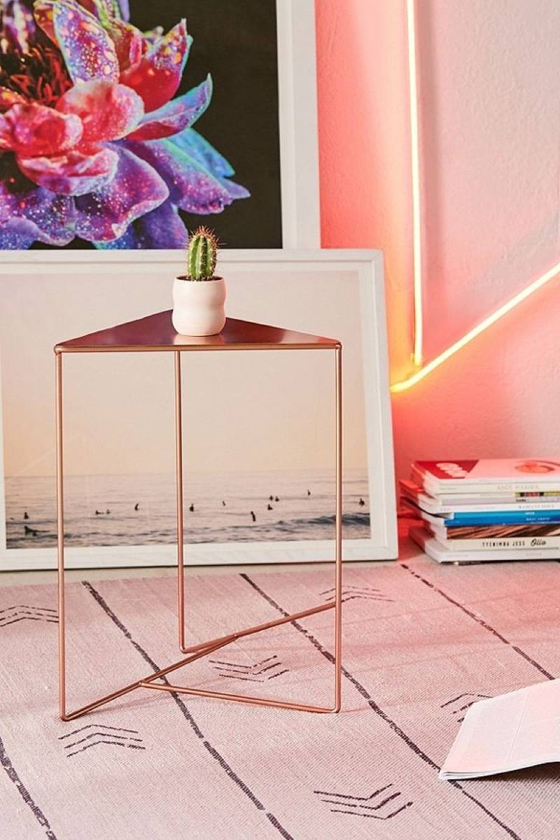 Triangle side table from Urban Outfitters