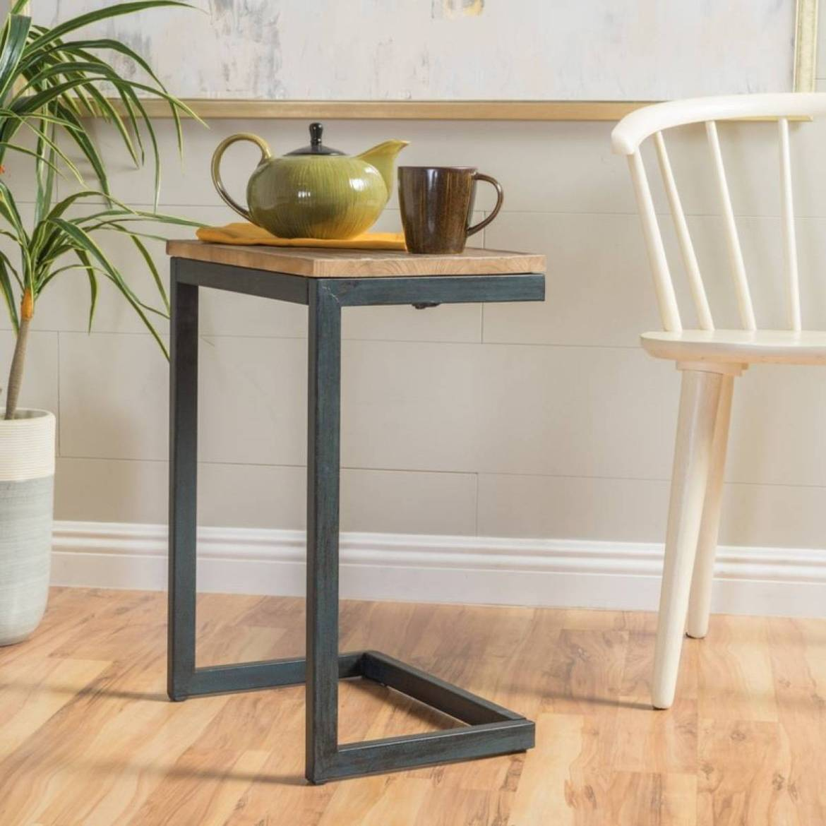 Antique end table from Wayfair