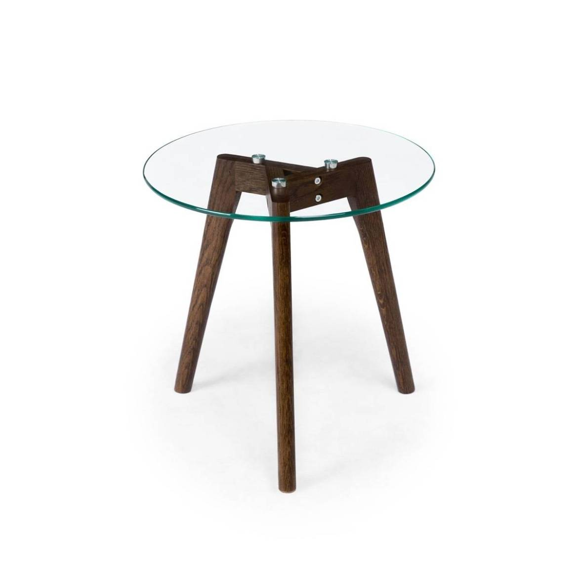 Walnut side table from Article