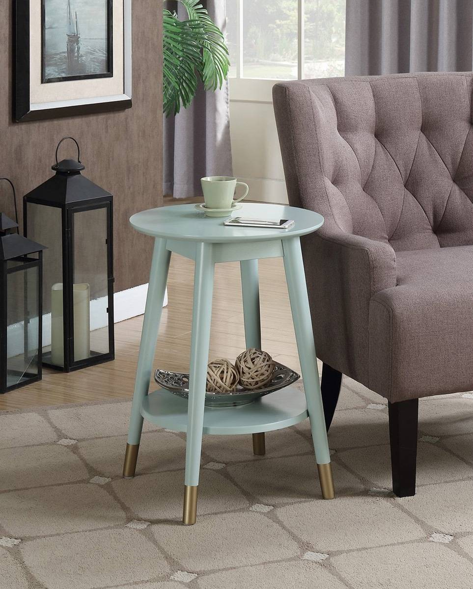 Wilson round end table from Hayneedle