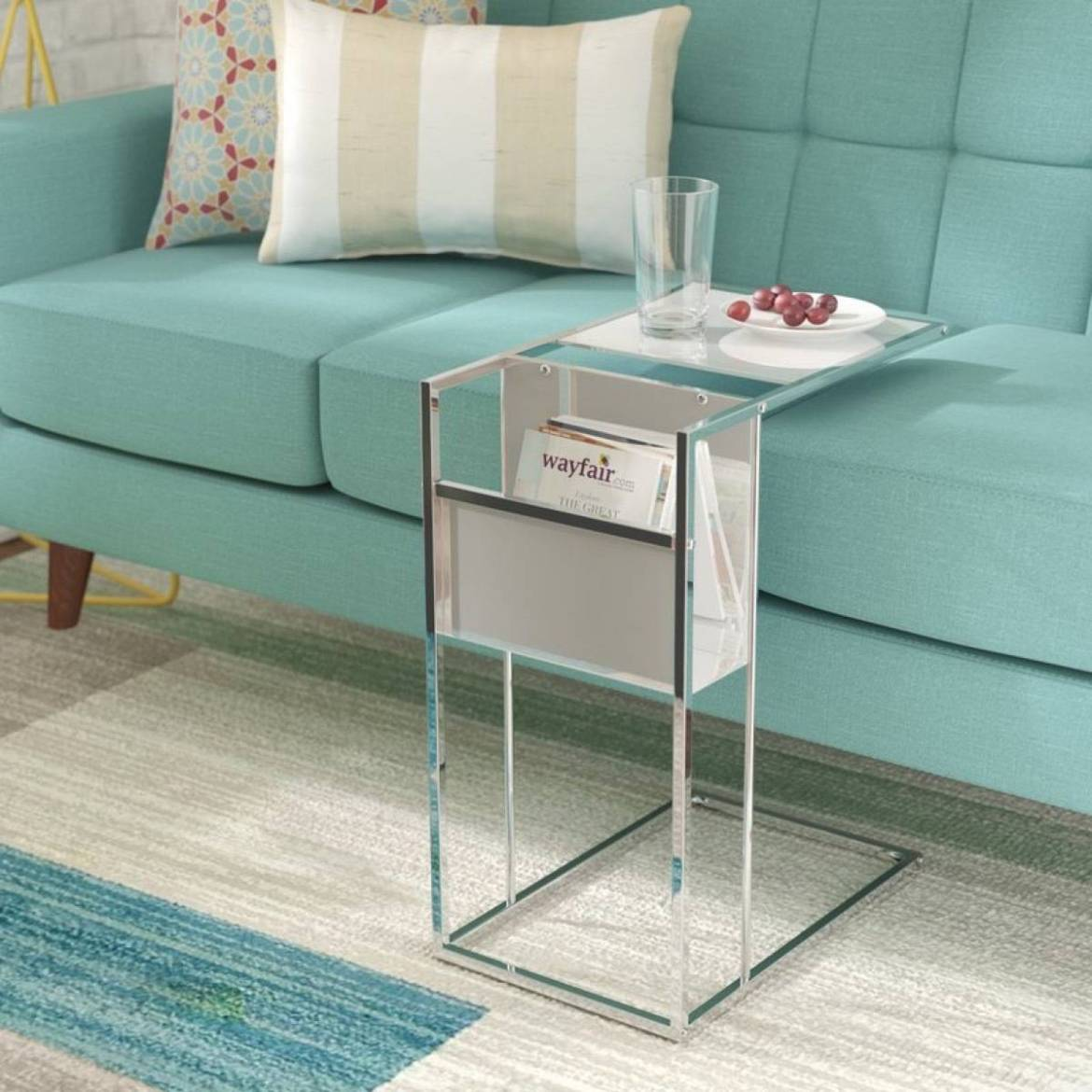Christi end table from All Modern