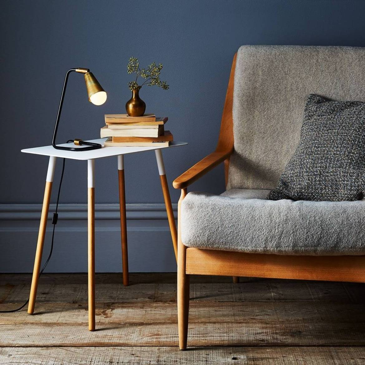 Rectangular side table from Food52