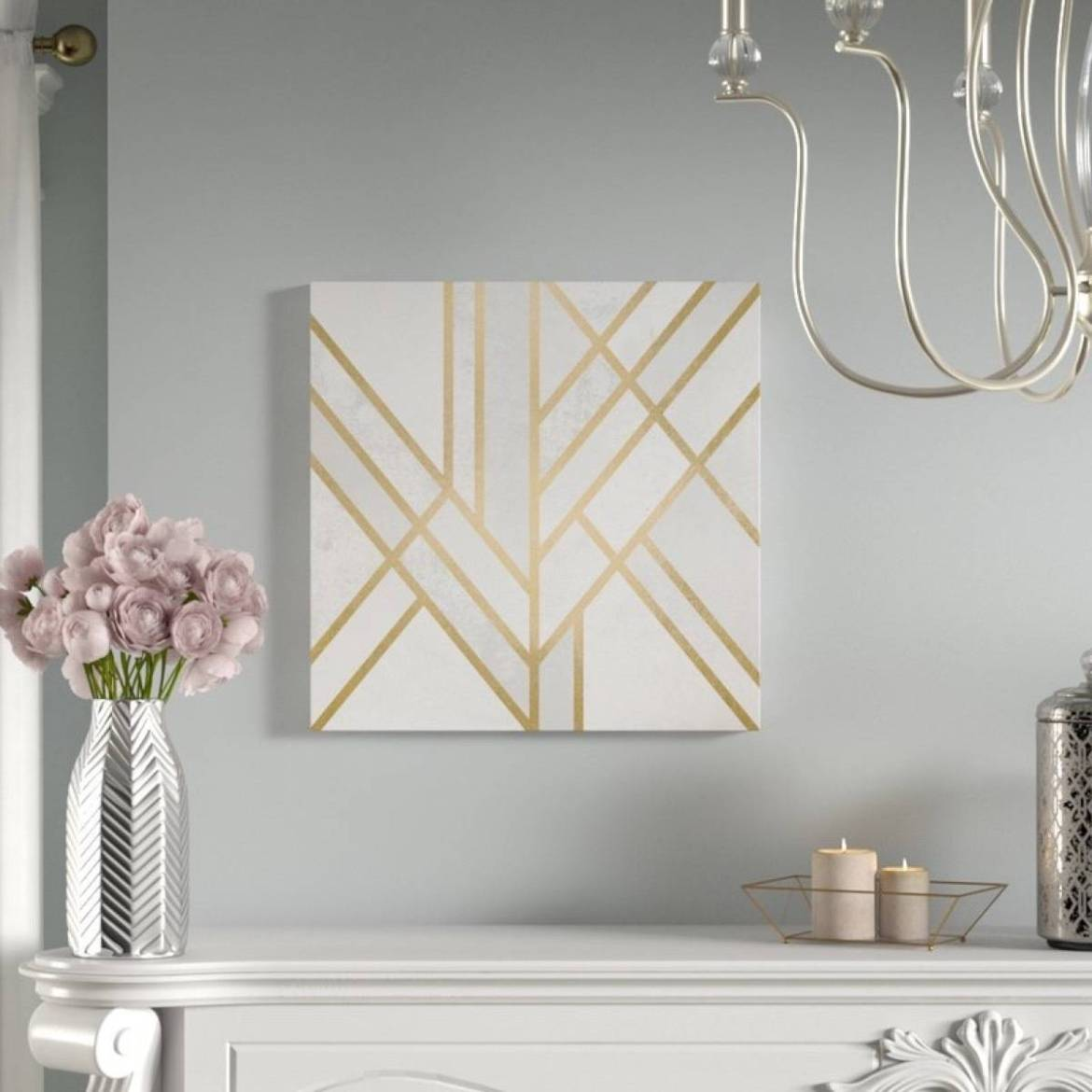 Art Deco graphic wall art from All Modern