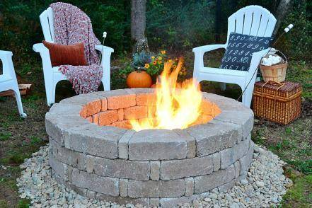 A DIY fire pit is just what your backyard needs this summer, and here are 15 ways to build your own. #firepit #diyfirepit