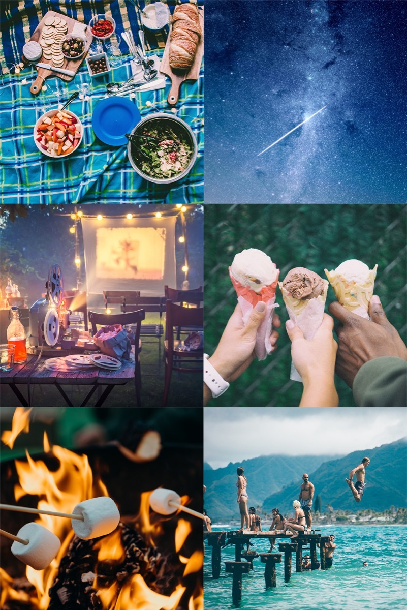 Summer activities that you should make sure not to miss out on. #summer