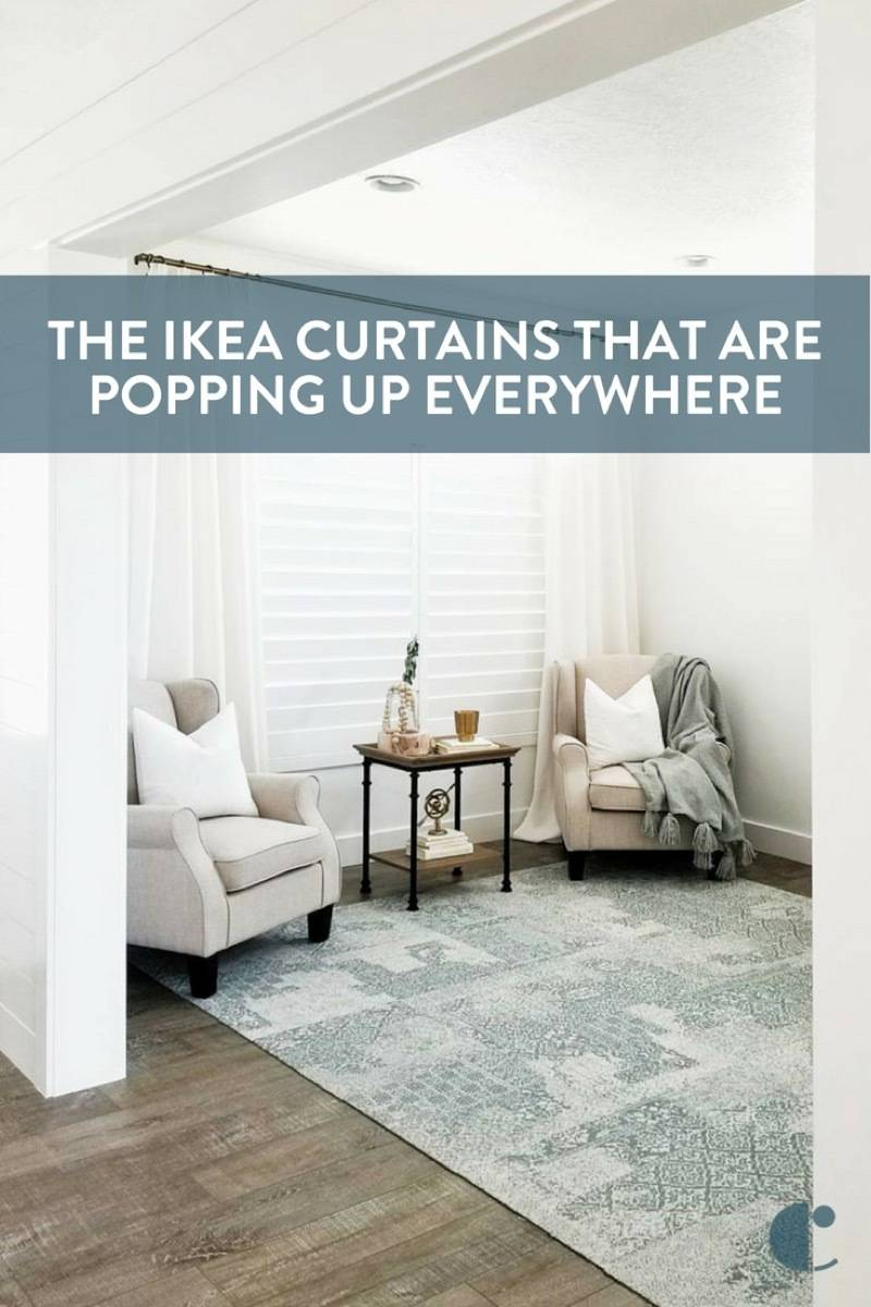 The IKEA curtains that designers swear by!