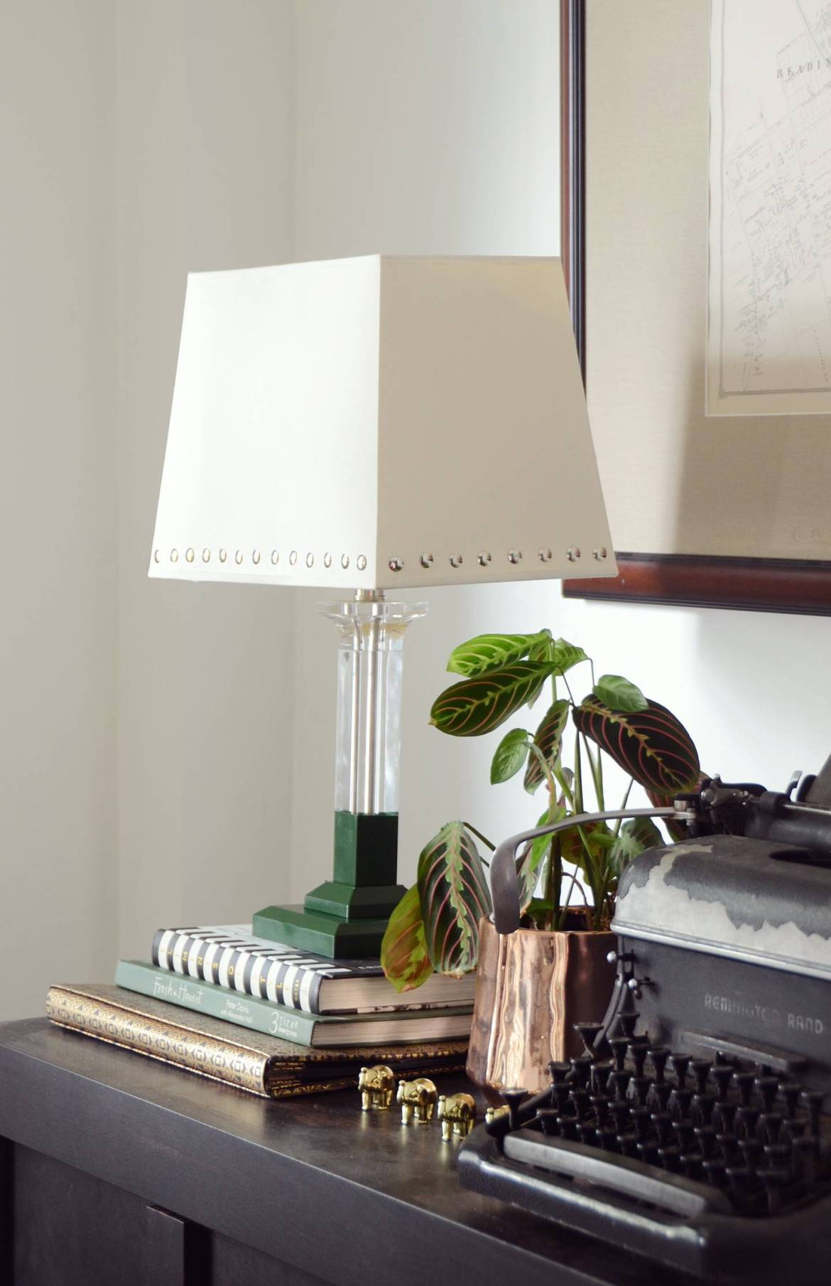 Lamp makeover | After