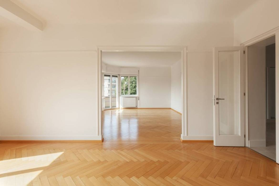 Empty apartment | Apartment hunting guide