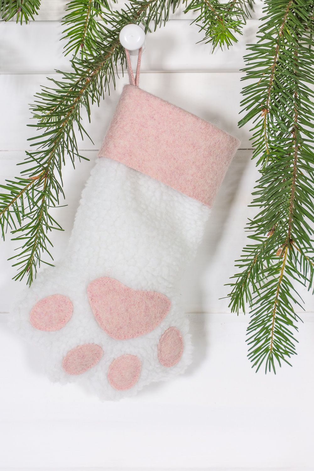 Sew your own pet Christmas stocking