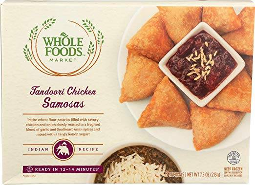 tandoori chicken samosa frozen appetizer