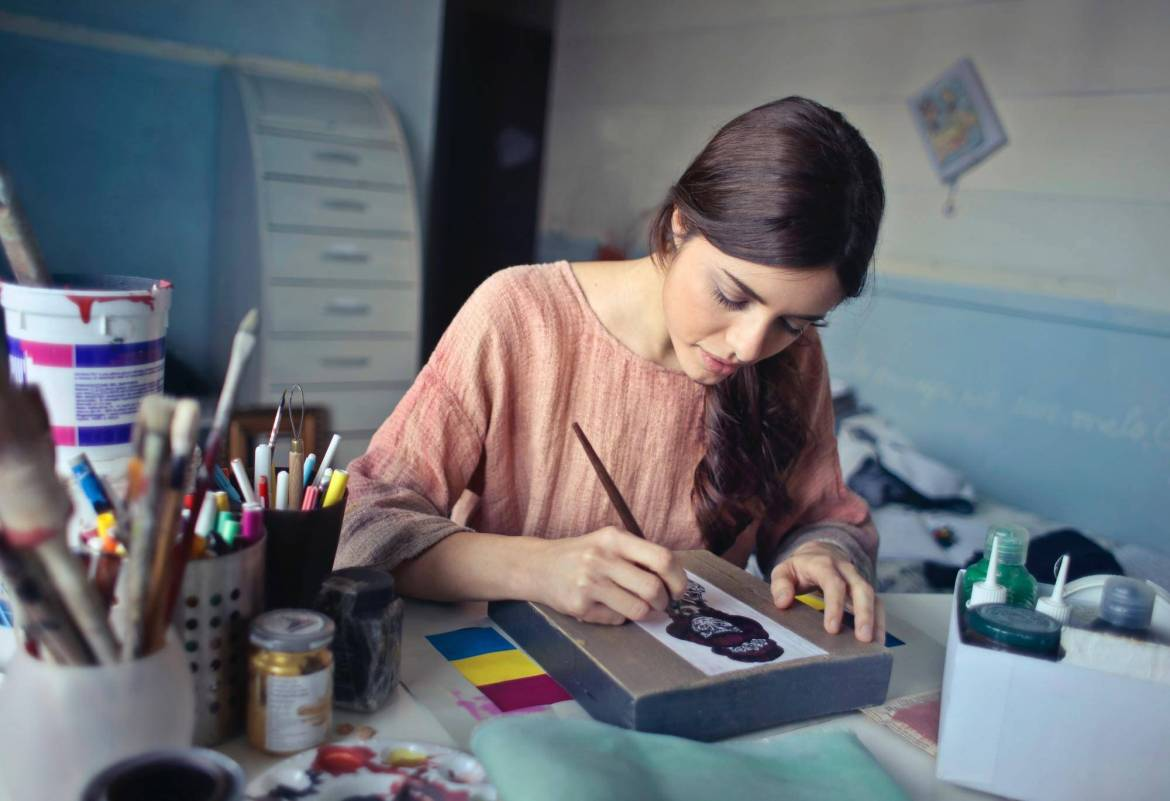 How To Be More Creative In The New Year | By Faith Provencher for Curbly #creativity #art #resolutions