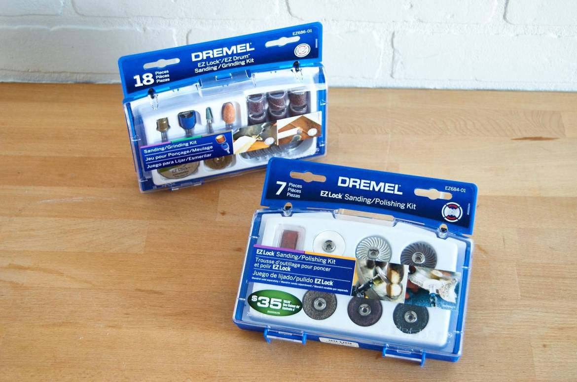 Dremel rotary tool attachment kits - giveaway