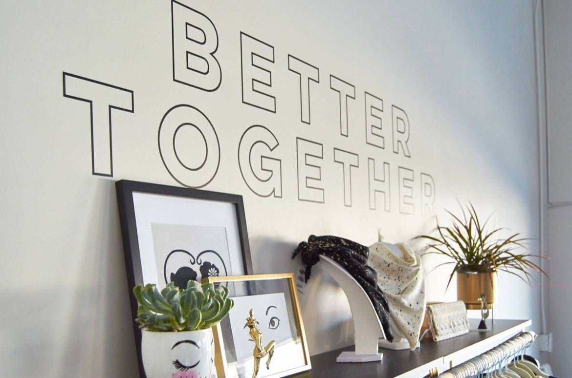 Better Together Decal